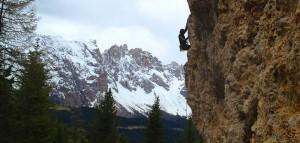 TimFritz beim Klettern!