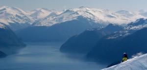 TimFritz unterwegs im Schnee auf Ski!